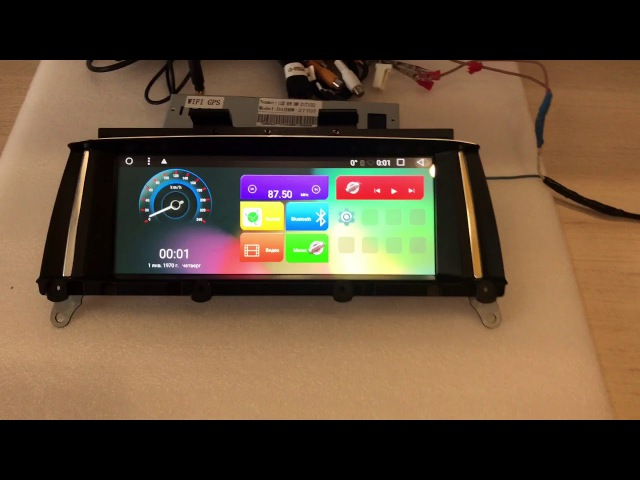 Автомагнитола MegaZvuk T3-9854 BMW X3 (F25) (2010) на Android 6.0.1 Quad-Core (4 ядра) 8,8