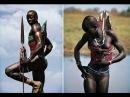 Дикая Африка.Жизнь племени Динка.Документальный фильм
