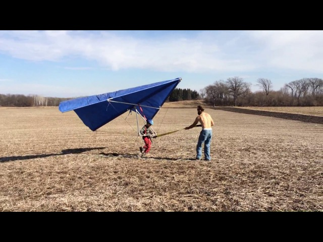 Our home made hang glider