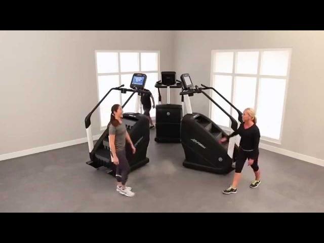 Тренажер PowerMill - готовая тренировка 2 | Life Fitness Russia