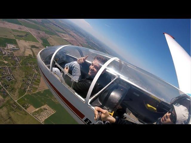 Полёт на планере Фигуры высшего пилотажа