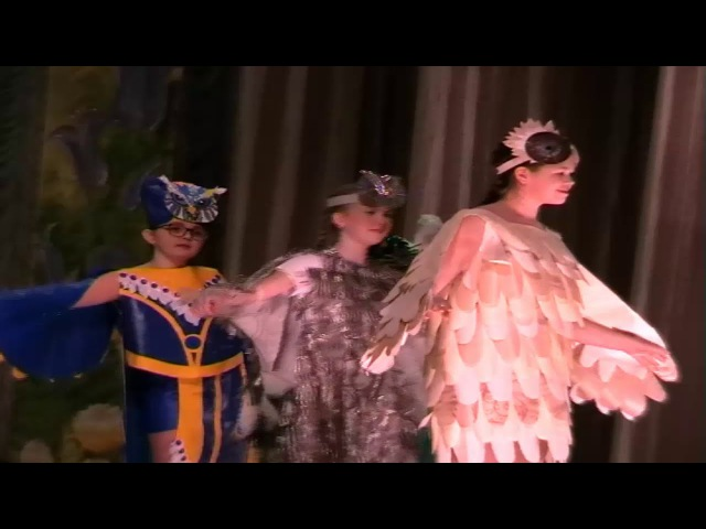 Детский театр моды «Вдохновение» Конкурс «Наряд из ничего» Дворец творчества – Мемориал 10 12 2017