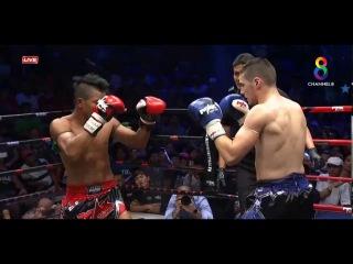 Max Muay Thai | Moeun Sokhuch(Khmer) vs (GuillaumeFrench) | 26 Feb 2017