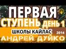 ⚜ Андрей Дуйко БЕСПЛАТНО 1 ступень школы Кайлас день 1-й 2014 г. ⚜ Эзотерика для нач...