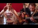 Импровизация на джембе и гитаре! TeamOnRamill djembeguitar Jam