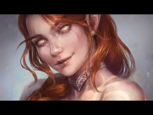 Astri Lohne — Ashwyn | Digital Painting Process