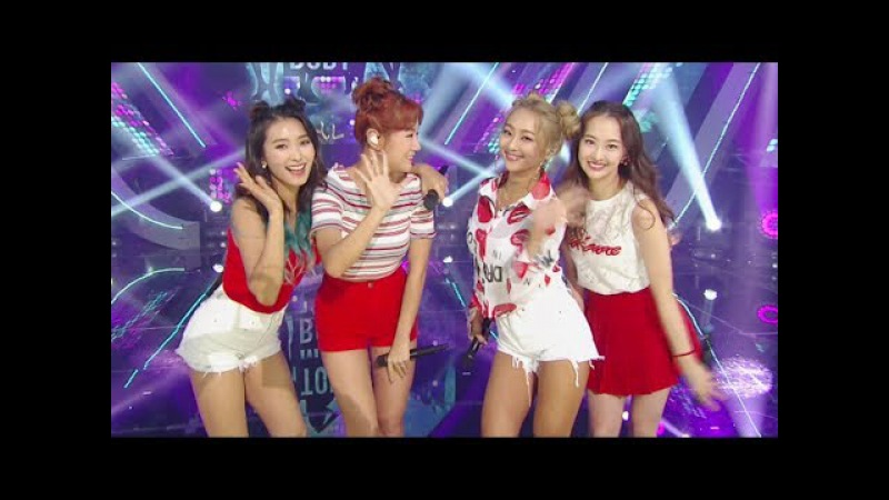 《Goodbye Stage》 SISTAR - SHAKE IT I Swear Touch My Body @인기가요 Inkigayo 20170604