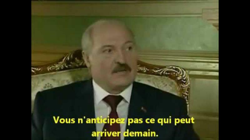 Le Président Biélorusse Lukashenko défend Bachar Al-Assad et met en garde l'occident