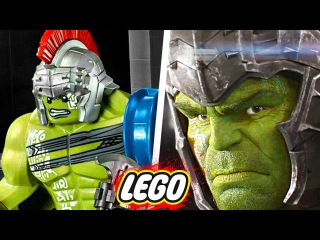 СПОЙЛЕРЫ В LEGO НАБОРАХ / Тор, Человек-Паук и Лига Справедливости
