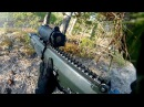 GoPro POV of Swedish Army Soldiers During Combat Training - AK5C Rifle Live Fire