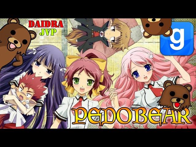 PEDOBEAR ♥ DAIDRA AND JVP! RUN! RUN! RUN!