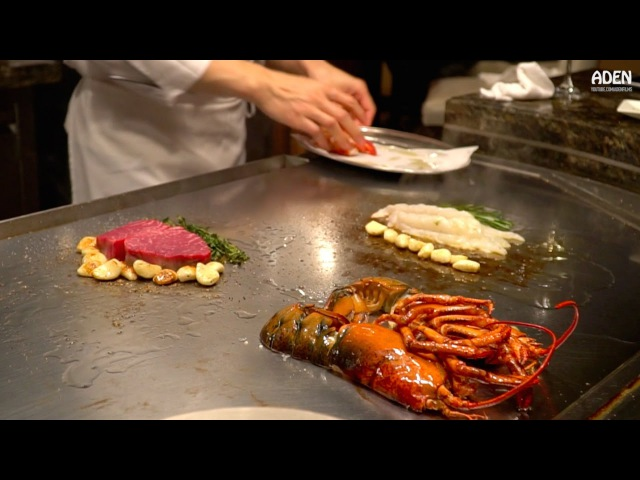 Lobster Steak Teppanyaki - Gourmet Food in Las Vegas