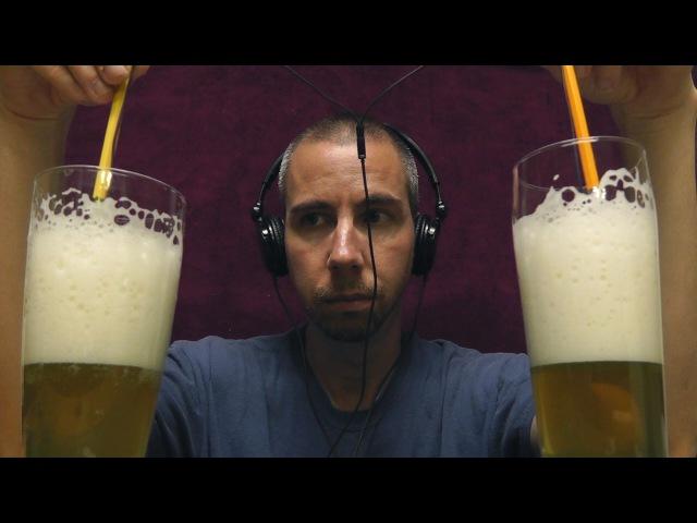 1 Hour of Binaural Beer Suds Sounds [ ASMR ]