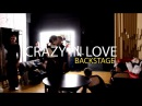Crazy in Love BackStage choreographer Kolya Barni