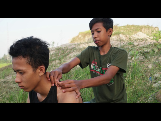 ASMR very relaxing head massage ,by uweh - intense