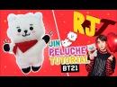 DIY BTS ☆ Como hacer el PELUCHE de RJ de BT21 (Jin) ♡ RJ DOLL TUTORIAL (Sub Eng) l Fabbi Lee