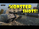 World of Tanks Funny Moments MONSTER SHOTS 4