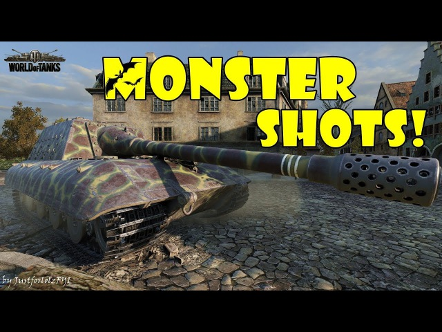 World of Tanks - Funny Moments | MONSTER SHOTS! 4