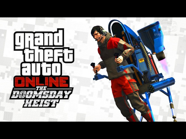 GTA Online - Jetpack / Mammoth Thruster [The Doomsday Heist]