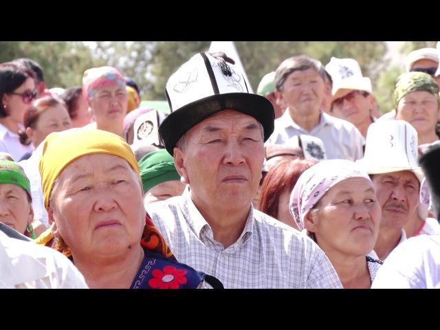 Видео кандидата в Президенты Кыргызской Республики Сооронбая Жээнбекова