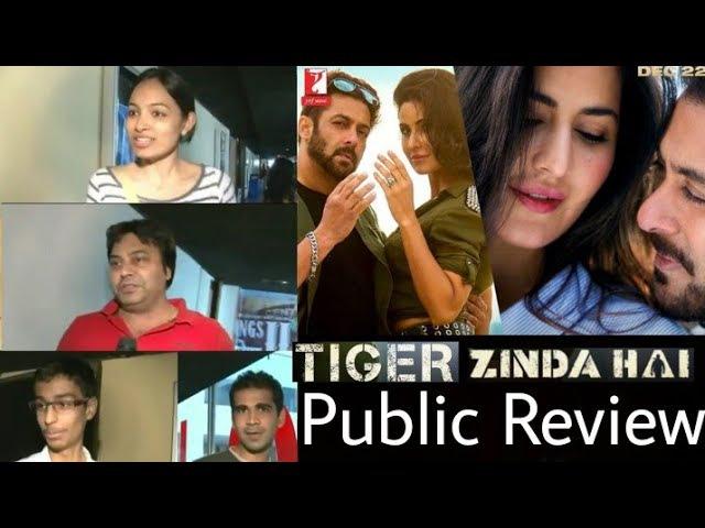 Tiger Zinda Hai | Public Review | Salman Khan | Katrina Kaif | YRF.