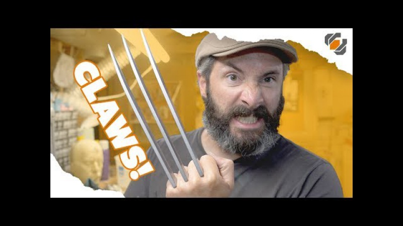 Wolverines Prop Claws - Cosplay Tutorial Part 2 of 2 - Blades