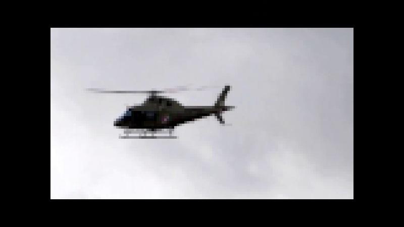 Acionamento,Decolagem e Rasante do Helicóptero Agusta AW-119MKII Koala,do BAPM-PMSC (PR-PMM),Águia 2