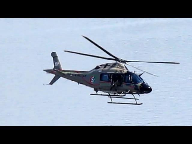 Helicóptero AW-119 Koala,Batalhão de Aviação da PMSC,(PR-PMM) Águia 02,Desfile Civico em Floripa-SC