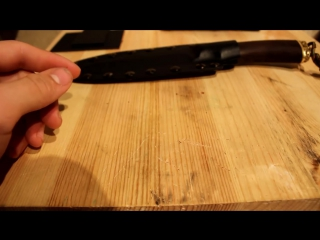 Ножны из Кайдекса для фикседа из дамасска( клипса) (Kydex)