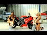 Bennetts Babes Bikini Bike Wash with Lucy Pinder