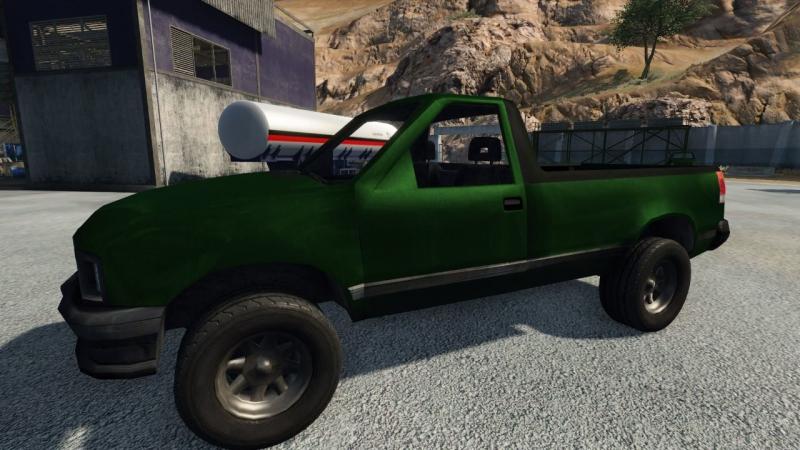 Зеленый скин для машины