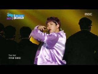 [comeback stage] bts - not today, 방탄소년단 - 낫 투데이 show music core 20170225