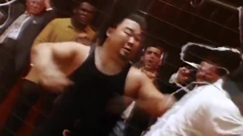 Сильнейший удар 2 Шинго vs Ленс.