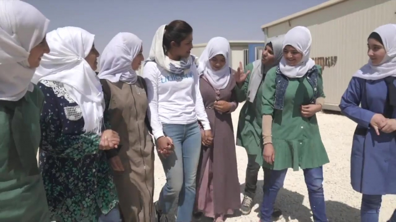 Priyanka Chopra Visiting Syrian Refugees