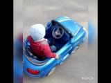 первая машина моего сынульки