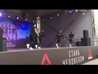 #СтаньЧеловеком 1.10.2017 #DanceAerobics #РеальныеПацаны