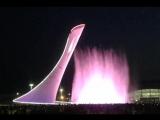 Шоу фонтанов в Олимпийском паркеQueen - Show must go on