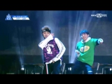 FANCAM 170516 Выступление Kim Sang Bin с N'Sync - Pop @ Mnet Official