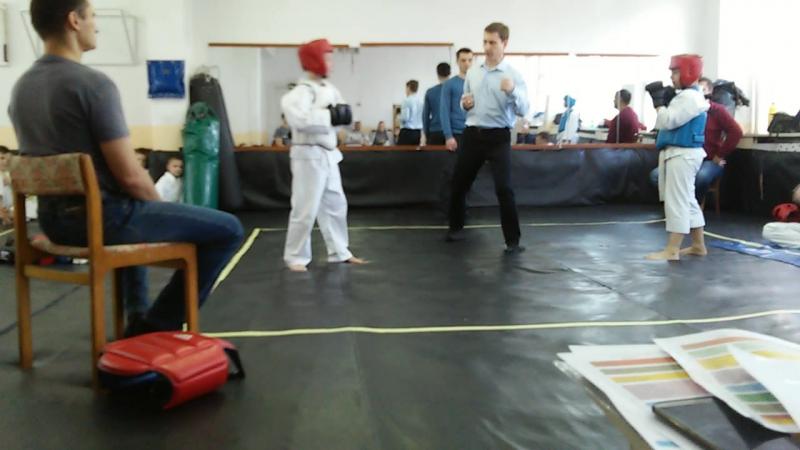 Мой сын выступает, первый бой, Иригуми Го