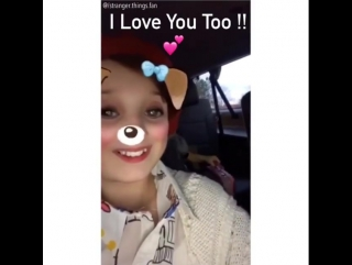Millie Bobby Brown | SNAPCHAT VIDEO