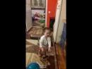 первые шаги внученьки