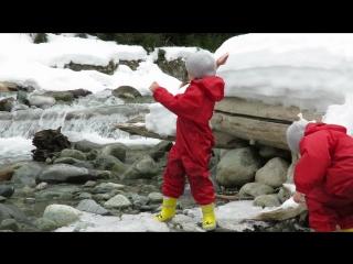 Koмбинезоны TUFFO + Утепленные Резиновые Сапоги KidORCA (Канада) с удлиненной вставкой ВЫШЕ колена