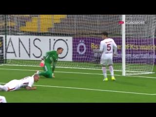 ★ ÖSTERSUND 2-0 GALATASARAY ★ 2017-18 UEFA Europa League - All Goals ★