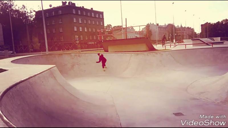 скейтпарк Krišjāņa Barona iela, Rīga