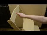 Обзор растущего стульчика Конёк-Горбунек от покупательницы.