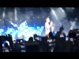 May 3: Fan taken video of Justin performing on stage in Tel Aviv, Israel.