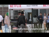 Bella Thorne arrives to Netflix studio for The Babysitter