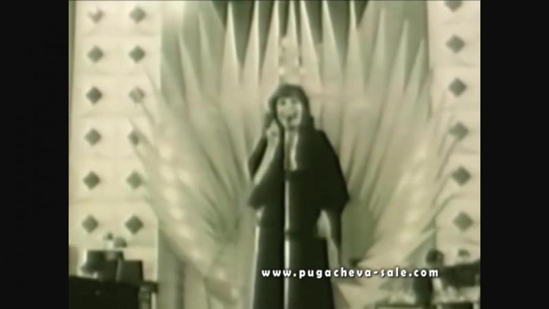 1975 Болгария Золотой Орфей Алла Пугачёва Арлекино