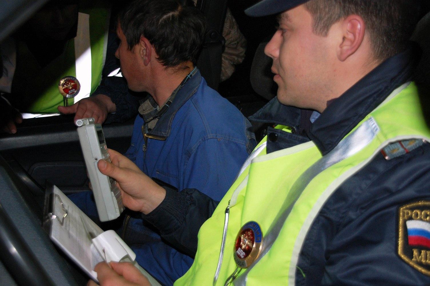 В Зеленчукском районе задержали пьяного лишенного прав водителя