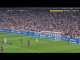 Реал - Барселона. Удар Бензема